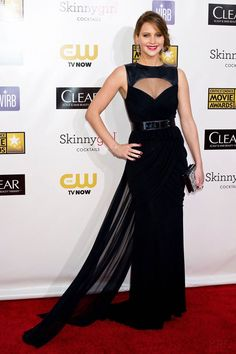 Jennifer Lawrence in Prabal Gurung at the 18th Annual Critics Choice Awards