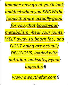 Do you know the foods that are actually good for you? Healthy Foods, Healthy Recipes, Boost Your Metabolism, For Everyone, Did You Know, Fat Burning, Burns, Healing, Nutrition