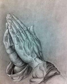 My own version of Durero's Praying Hands.  Hope you like it!