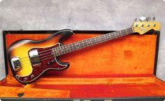 1966 FENDER PRECISION - SUNBURST  This is the cleanest 60s Fender…