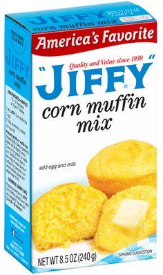 """Corn Muffin Mix- """"JIFFY"""""""