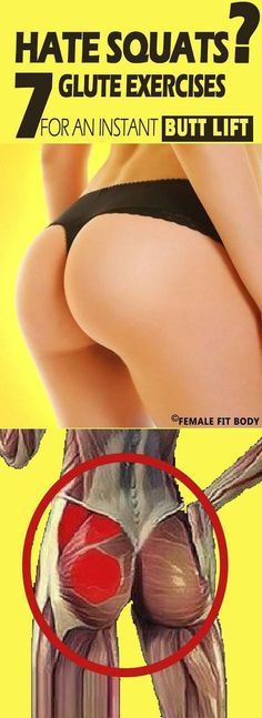 Hate Squats? 7 Glute Exercises for an Instant Butt Lift