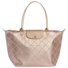 Tote bag - LM METAL - Handbags - Longchamp - Platinum - Longchamp United-States