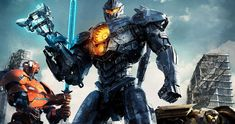 Jaegers Rise Up in Epic Pacific Rim 2 Poster -- A group of Jaegers stand tall to defend humanity against the Kaiju monsters in a new poster for Pacific Rim: Uprising. -- http://movieweb.com/pacific-rim-2-uprising-poster/