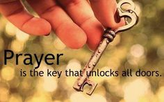 Never under estimate what prayer can do!!!