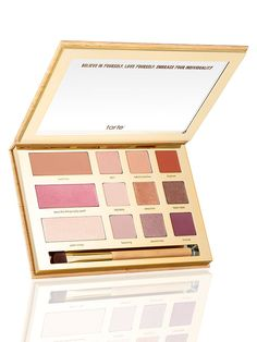 Limited-Edition Swamp Queen Eye & Cheek Palette With Brush   Tarte Cosmetics