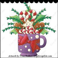 Christmas Treats 2 Clip Art Single