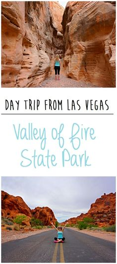 Valley of Fire State Park. Day trip from Las Vegas! If you're looking to take a break from the bright lights of the Las Vegas Strip, Valley of Fire State Park makes the perfect half-day excursion. This was definitely one of the highlights of my trip to Nevada! http://www.mintnotion.com/travel/day-trip-from-las-vegas-valley-of-fire-state-park/