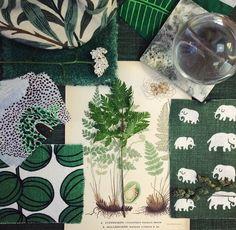 Posts you've liked Interior Inspiration, Design Inspiration, Textiles, Green Rooms, Swedish Design, Scandinavian Interior, Soft Furnishings, Interior Styling, Diy Design