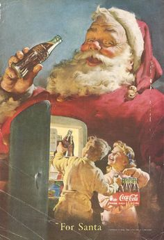 Coca-Cola: For Santa (ca. 1950)