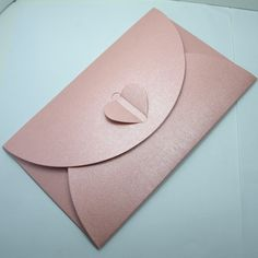 Via closely with the planning office sankakumado fold card pink pearl paper buckle fashion envelope personalized greeting card set 12 19cm 250china bookmarktalkfo Images