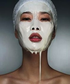 Perfect skin milk mask