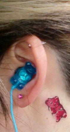 gummy bear tattoo - Google Search