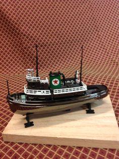 Texaco tug boat