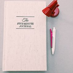 The #fiveminutejournal is your guide to a happier you ⭐️ by @bq