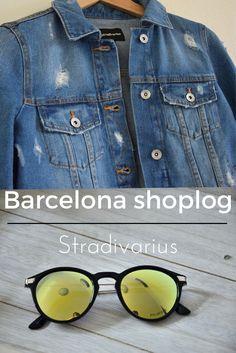 #shoplog #Barcelona #Barcelonashoplog #Stradivarius #destroyedjackstyle #sunglassesstyle #Barcelonastyle