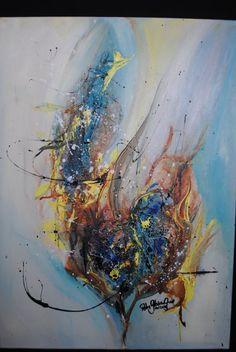 Acrylbild auf Leinwand von KunstPunktKunst auf Etsy