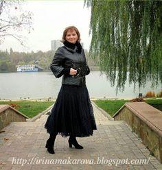 Девочки мои,как же я соскучилась )))иииииииияааааа!! Сегодня я с обновкой-представляю вашему вниманию юбочку Венецианская Ночь !! Та...