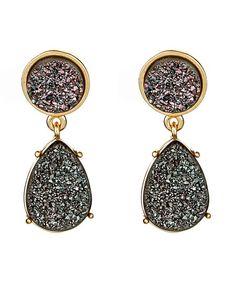 Claudia Lobao Teardrop earrings