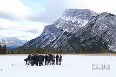 Amy & Sean / Feb 15/13 / Banff, Alberta / Photography by Malcolm Carmichael