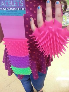 For fish or sea creature costume. At Party City.