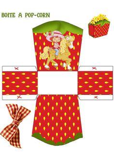 Strawberry Shortcake  - Box