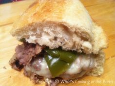 Crock Pot Philly Cheese Steak Sandwiches: it's what's for dinner tonight!