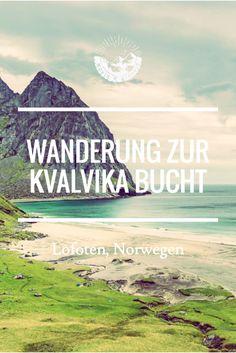 Die Kvalvika Bucht auf den Lofoten in Norwegen - eine Wanderung, die es in sich hat! Zur Kvalvika Bucht bin ich etwas unvorbereitet gewandert und hatte deshalb so ein paar Momente, an denen ich mich selbst dafür verflucht habe. Aber letztendlich war das Ziel definitiv die Anstrengung wert!