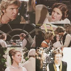 Han and Leia -A New Hope  Sooo cute!