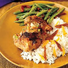The chicken finishes cooking in a rich and creamy peanut sauce for a simple dish that makes supper super.