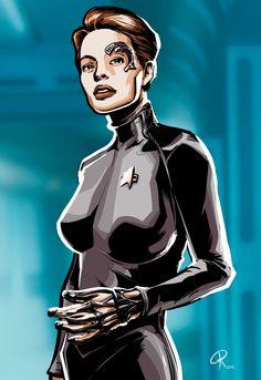Star Trek Femme Fatales Seven of Nine Statue | Geektastic Stuff ...