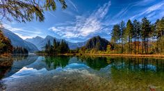 Autumn Lake by Christian Kneidinger on 500px