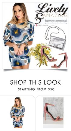 """""""AMICLUBWEAR 29/IV"""" by amra-mak ❤ liked on Polyvore featuring Loeffler Randall and amiclubwear"""
