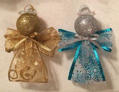56 New ideas for easy christmas tree crafts gift ideas Christmas Ornament Crafts, Christmas Crafts For Kids, Christmas Angels, Diy Christmas Gifts, Christmas Projects, Simple Christmas, Holiday Crafts, Christmas Holidays, Christmas Wreaths