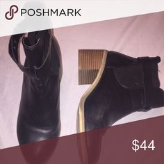 Ankle boots with heels Preowned In mint condition Shoes Ankle Boots & Booties