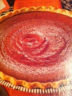 Oven recipes done right: Spiced Eggnog Pumpkin Pie Oven Recipe