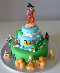 Delanas Cakes Dragon Ball Z Cake