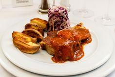 Tandoori Chicken, Steak, Ethnic Recipes, Pork, Salads, Steaks, Beef