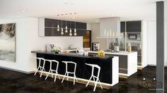 Cocinas de estilo moderno de LA RORA Interiorismo & Arquitectura