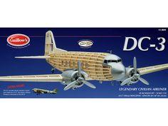 GUILLOW'S- Douglas DC-3/C-47 Scale Balsa Wood Model Airplane Display Kit GUI-804 #Guillows