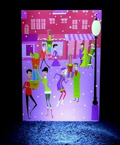 Shag RARE 2003 Happy Holidays Greeting Card Josh Agle Tiki Art Worldwide New | eBay