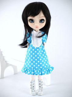 Pullip/Blythe dress for 1/6 dolls by Miema.