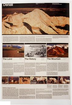 Unigrid template by Massimo Vignelli for National Parks Service