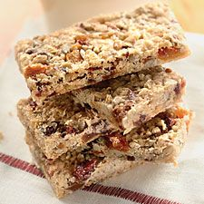 When you make your own granola bars, you're able to use the exact combination of dried fruit, nuts, and seeds you like.