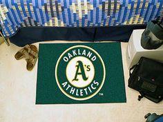 """MLB - Oakland Athletics Starter Rug 19""""""""x30"""""""""""