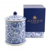 Dynasty Candle Blue Orchid
