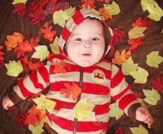 autumn baby picture ideas - Google Search