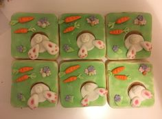 Easter Cookies  Fondant Cookies, Easter Cookies, Sweet Tooth, Easter Treats