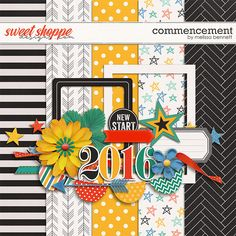 Quality DigiScrap Freebies: Commencement mini kit freebie from Melissa Bennett