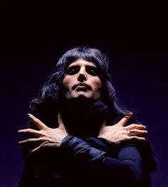 Freddie Mercury by Mick Rock, 1975